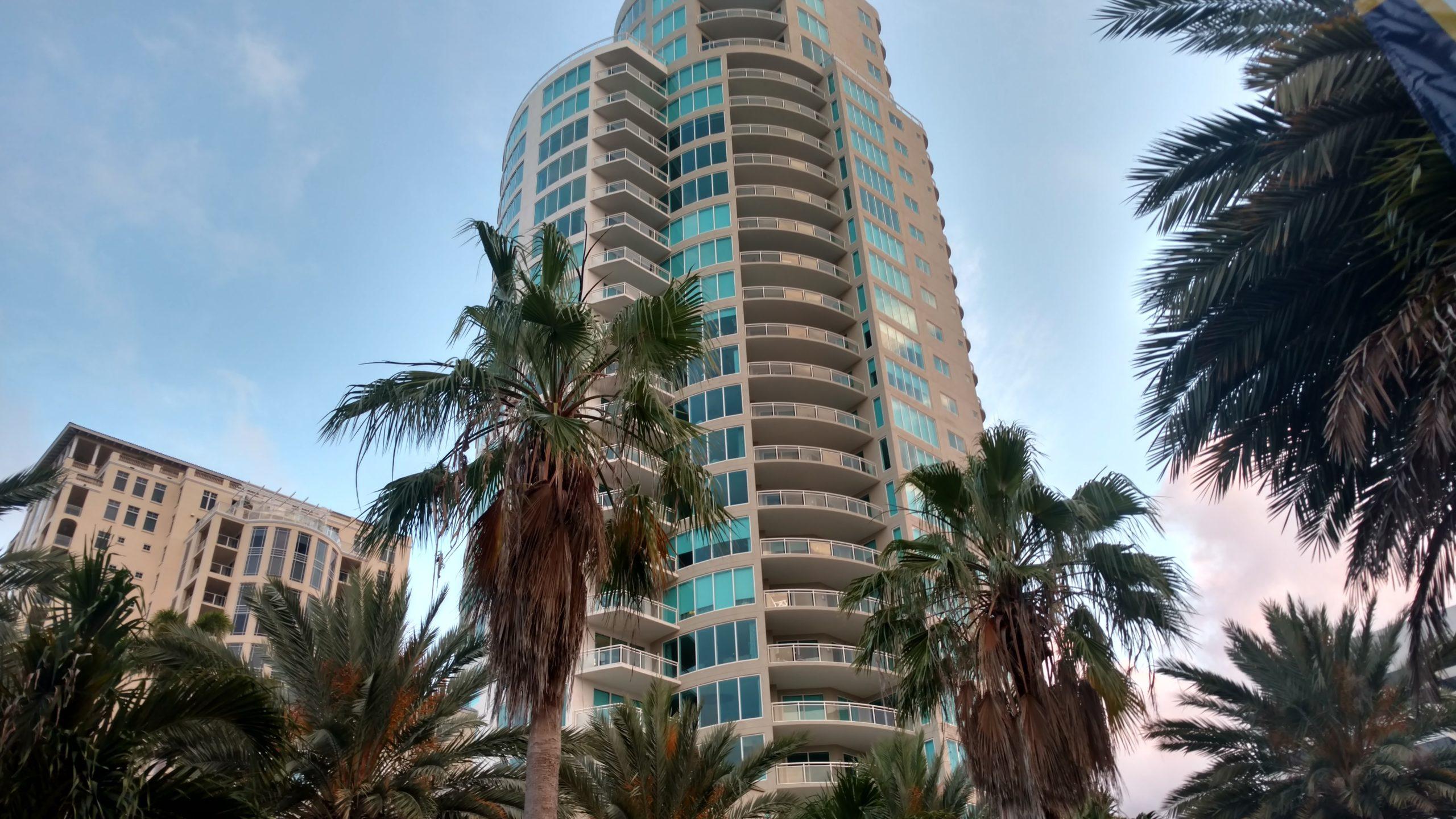 Condo High Rise Downtown St Pete FL